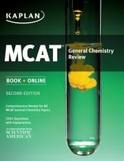 Kaplan MCAT General Chemistry Review ebook by Kaplan