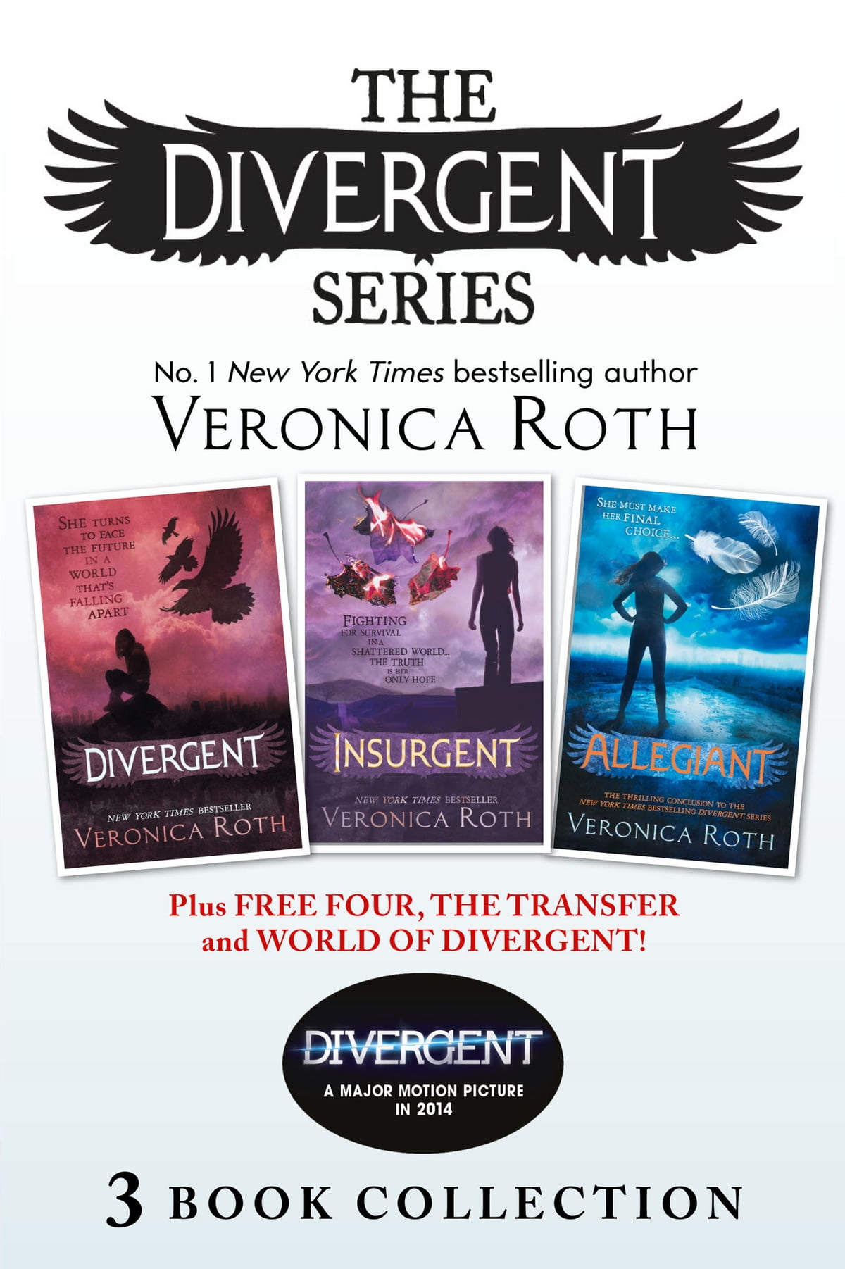 Divergent Series (Books 1-3) Plus Free Four, The Transfer and World of  Divergent (Divergent) | Rakuten Kobo