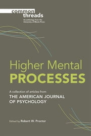 Higher Mental Processes ebook by
