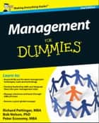 Management For Dummies ebook by Richard Pettinger,Bob Nelson,Peter Economy