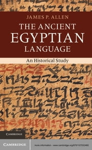The Ancient Egyptian Language - An Historical Study ebook by James P. Allen