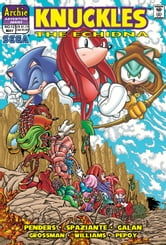 "Knuckles the Echidna #12 ebook by Ken Penders,Patrick ""SPAZ"" Spaziante,Manny Galan,Andrew Pepoy,Barry Grossman"