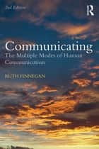 Communicating ebook by Ruth Finnegan
