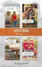 Western Box Set 1-4 Aug 2020/The Cowboy's Comeback/Her Man Behind the Badge/Montana Homecoming/Twins for the Rodeo Star ebook by