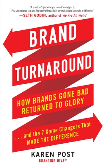 Brand Turnaround: How Brands Gone Bad Returned to Glory and the 7 Game Changers that Made the Difference ebook by Karen Post