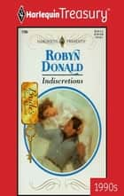 INDISCRETIONS ebook by Robyn Donald