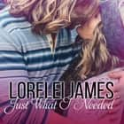 Just What I Needed livre audio by Lorelei James