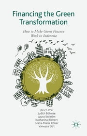 Financing the Green Transformation - How to Make Green Finance Work in Indonesia ebook by Ulrich Volz,Judith Böhnke,Laura Knierim,Katharina Richert,Greta-Maria Roeber,Vanessa Eidt