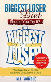 The Biggest Loser Diet: Should You Try It? Including 97 Foods Shopping List, 7 Day Biggest Loser Diet Plan (Meal Plan), Do's & Don'ts & MORE - Biggest Loser Books, Biggest Loser Breakfast ebook by M.L. Womble
