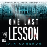 One Last Lesson (DI Angus Henderson 1) audiobook by Iain Cameron
