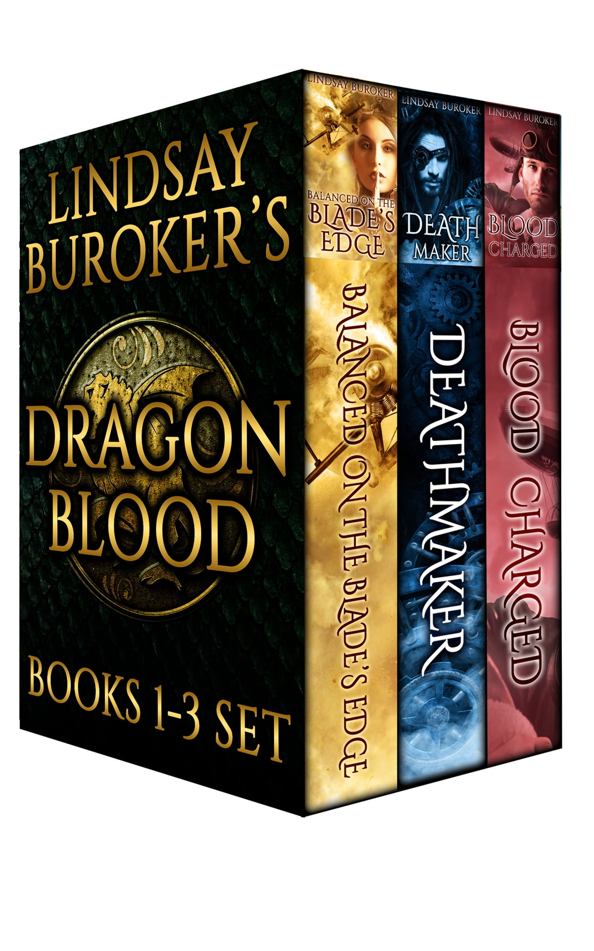 The Dragon Blood Collection, Books 13 Ebook By Lindsay Buroker