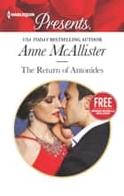 The Return of Antonides - An Anthology ebook by Anne McAllister, Amanda Cinelli