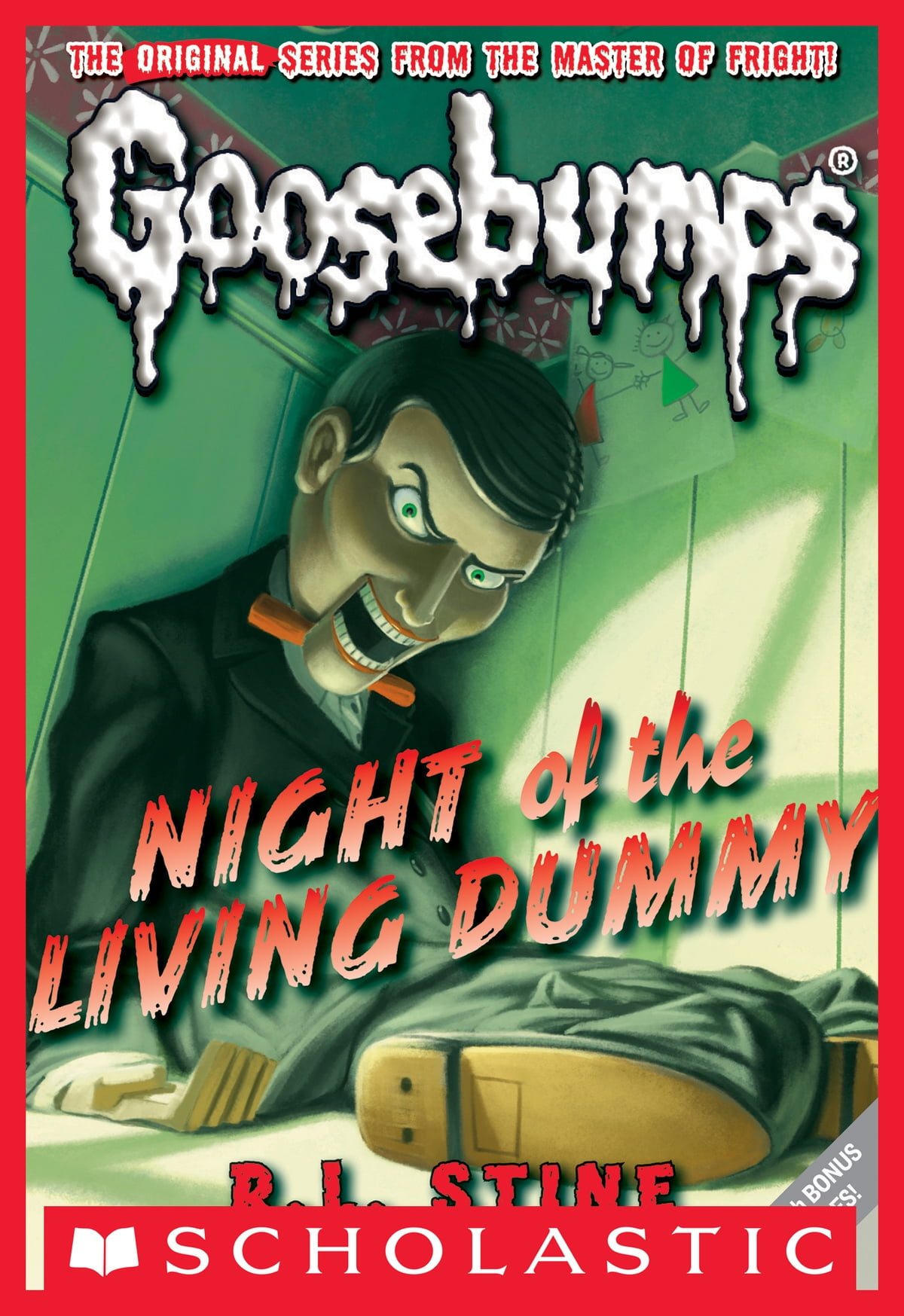 Classic Goosebumps #1: Night Of The Living Dummy Ebook By Rl Stine