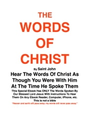 THE WORDS OF CHRIST By St JOHN - Hear the words of Christ ebook by Joe Procopio