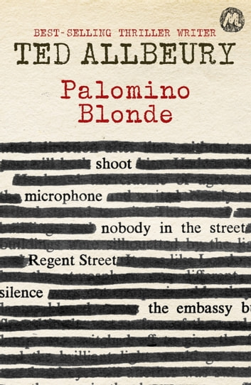 Palomino Blonde - Tad Anders Book Two ebook by Ted Allbeury