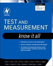Test and Measurement: Know It All - Know It All ebook by Jon S. Wilson, Stuart Ball, Creed Huddleston,...