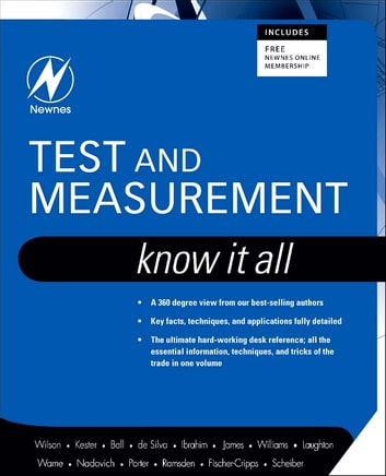 Test and measurement know it all ebook by jon s wilson test and measurement know it all know it all ebook by jon s fandeluxe Images