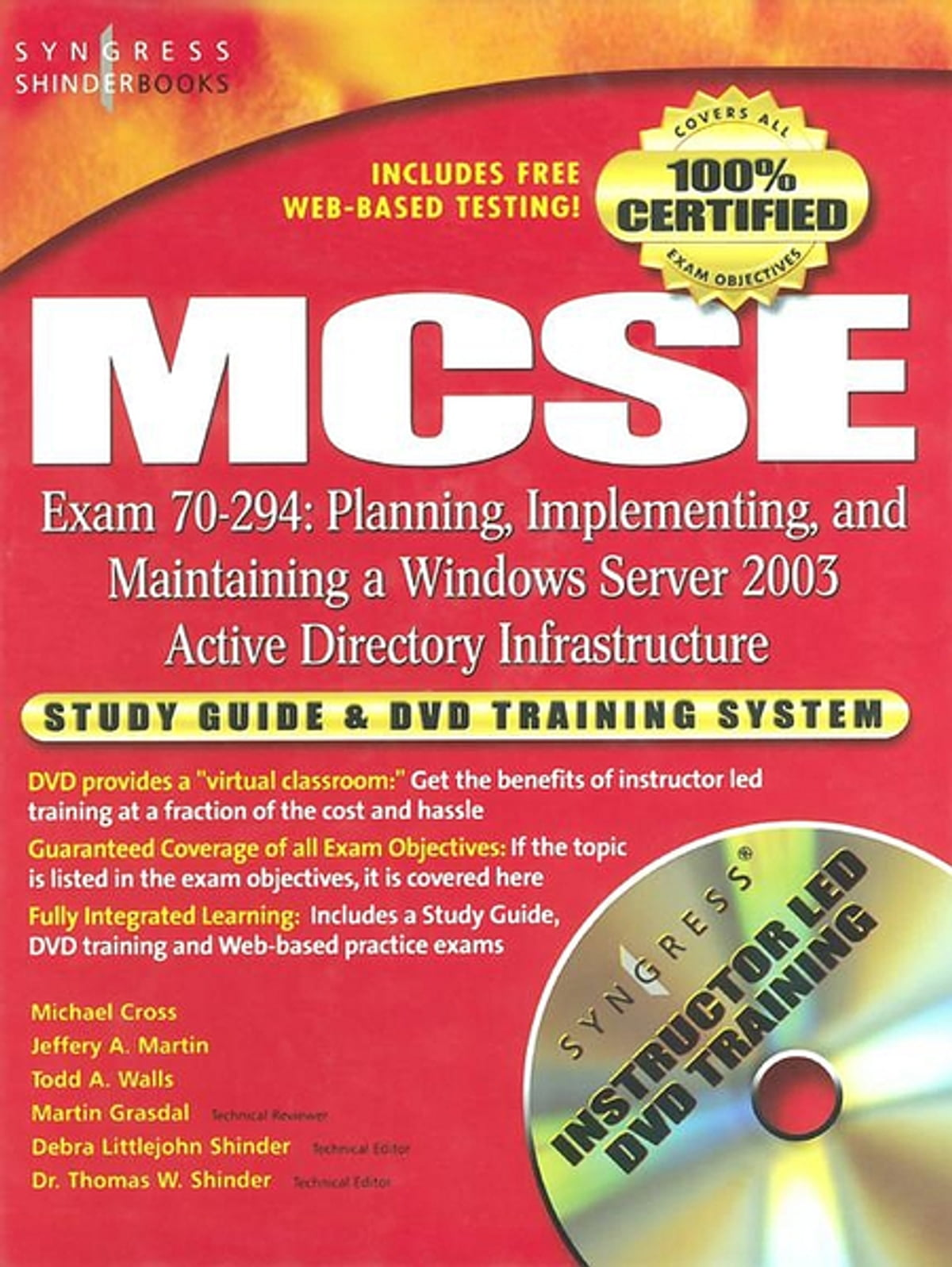 MCSE Planning, Implementing, and Maintaining a Microsoft Windows Server  2003 Active Directory Infrastructure (Exam 70-294) ebook by Syngress -  Rakuten