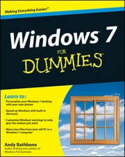 Windows 7 For Dummies, Enhanced Edition ebook by Kobo.Web.Store.Products.Fields.ContributorFieldViewModel