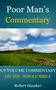 Poor Man's Commentary ebook by Hawker, Robert