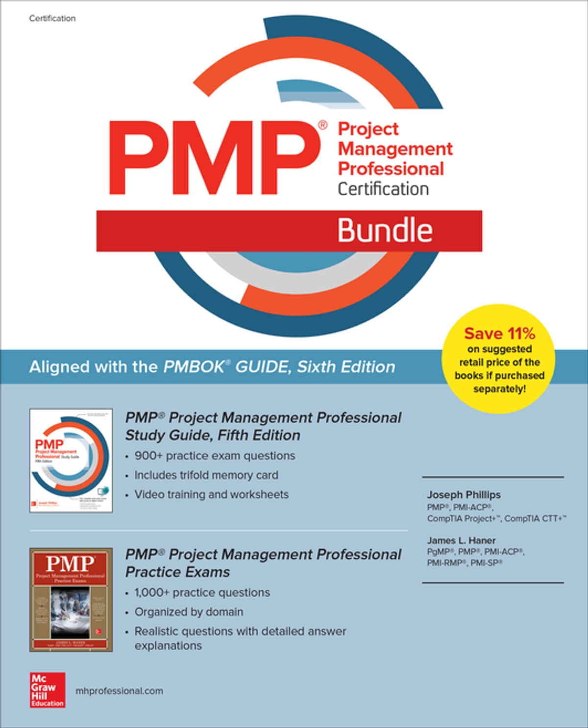 PMP Project Management Professional Certification Bundle eBook by Joseph  Phillips - 9781260440539 | Rakuten Kobo