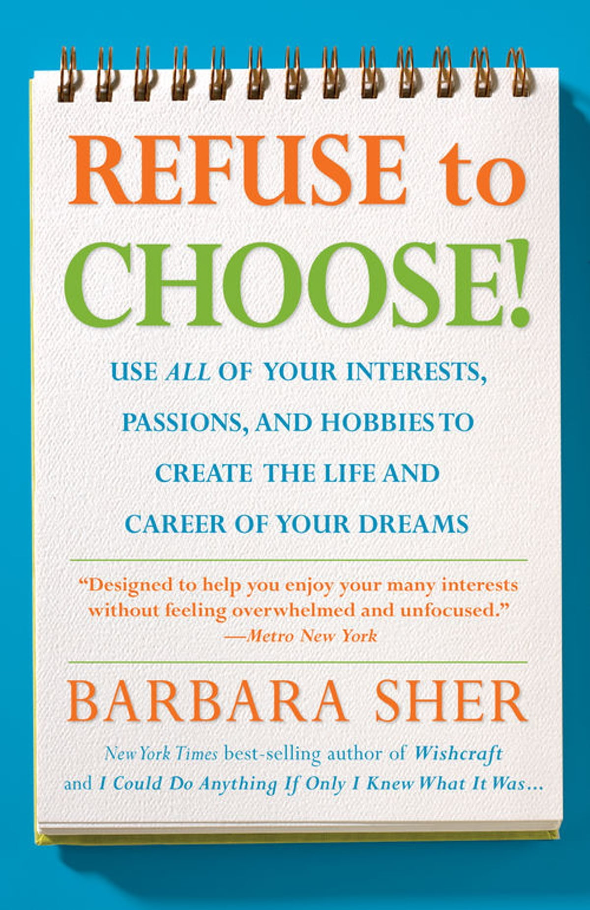 refuse to choose ebook by barbara sher kobo