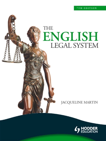 The English Legal System, 7th Edition eBook ePub ebook by Jacqueline Martin