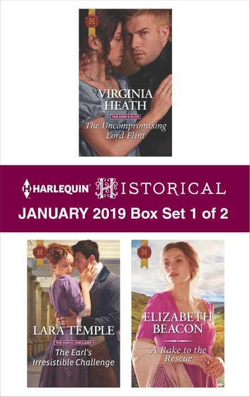 Harlequin Historical January 2019 - Box Set 1 of 2 - An Anthology ebook by Virginia Heath,Lara Temple,Elizabeth Beacon