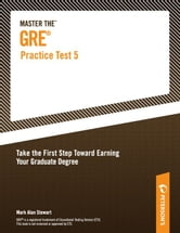 Master the GRE Practice Test 5 ebook by Peterson's,Mark Alan Stewart