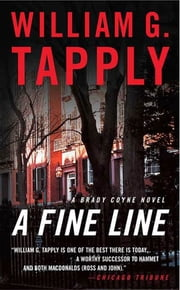 A Fine Line - A Brady Coyne Novel ekitaplar by William G. Tapply