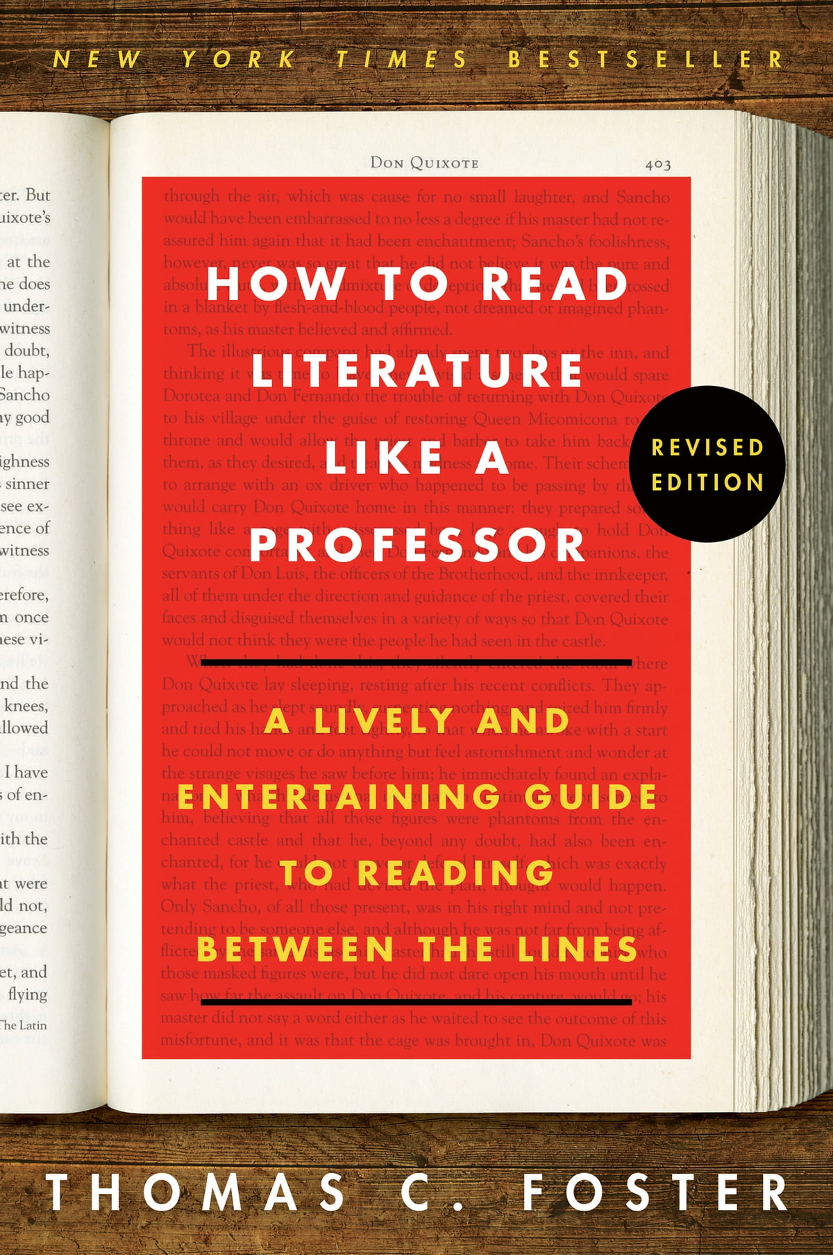 how to read literature like a professor revised thomas c foster