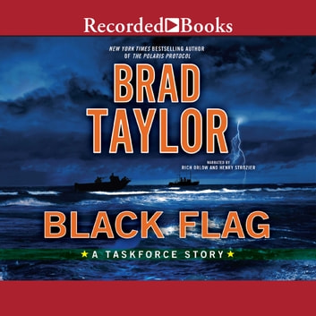 Black Flag luisterboek by Brad Taylor