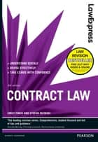 Law Express: Contract Law (Revision Guide) ebook by Emily Finch, Stefan Fafinski