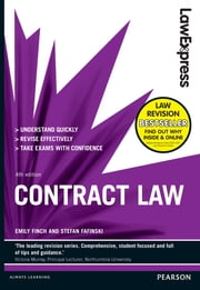 Law Express: Contract Law (Revision Guide) ebook by Emily Finch,Stefan Fafinski