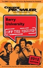 Barry University 2012 ebook by Ricardo Redd