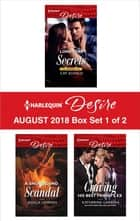 Harlequin Desire August 2018 - Box Set 1 of 2 - Lone Star Secrets\A Snowbound Scandal\Craving His Best Friend's Ex ekitaplar by Cat Schield, Jessica Lemmon, Katherine Garbera