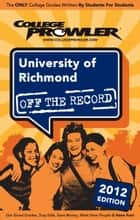 University of Richmond 2012 ebook by Laura DiLibero