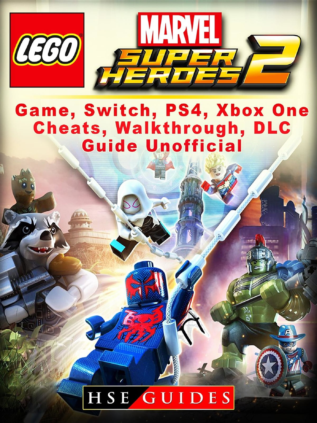 Lego Marvel Super Heroes 2 Game Switch Ps4 Xbox One Cheats