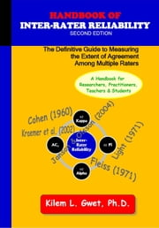 Handbook of Inter-Rater Reliability (Second Edition) ebook by Gwet, Kilem Li