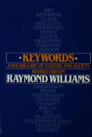 Keywords: A Vocabulary of Culture and Society ebook by Raymond Williams