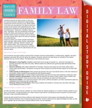 Family Law (Speedy Study Guides) ebook by Speedy Publishing