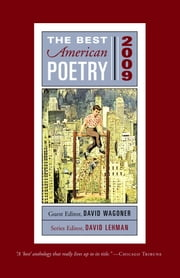 The Best American Poetry 2009 - Series Editor David Lehman ebook by