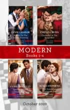 Modern Box Set 1-4 Oct 2020/A Baby on the Greek's Doorstep/Christmas in the King's Bed/Their Impossible Desert Match/One Scandalous Christmas E ebook by Clare Connelly, Lynne Graham, Caitlin Crews,...