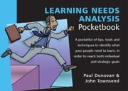 Learning Needs Analysis Pocketbook ebook by Donovan, Paul