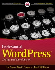 Professional WordPress ebook by Hal Stern,David Damstra,Brad Williams