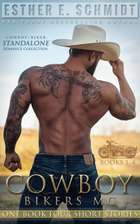 Cowboy Bikers MC Collection Books 1 - 4 ebook by Esther E. Schmidt