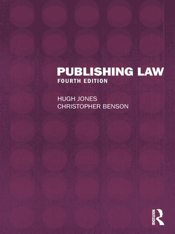 Publishing Law ebook by Hugh Jones,Christopher Benson