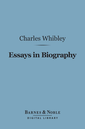 Proposal Essay  Thesis Example For Compare And Contrast Essay also Definition Essay Paper Essays In Biography Barnes  Noble Digital Library Ebook By Charles  Whibley  Rakuten Kobo How To Write A Proposal Essay