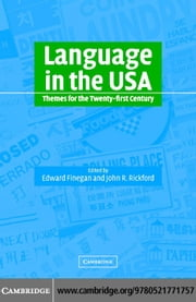 Language in the USA: Themes 21C ebook by Kobo.Web.Store.Products.Fields.ContributorFieldViewModel