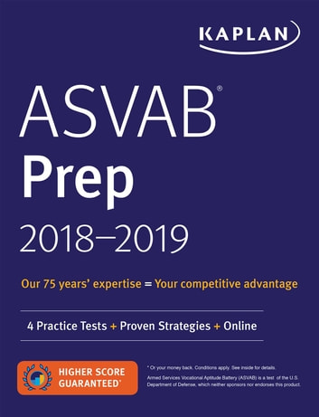 Asvab prep 2018 2019 ebook by kaplan test prep 9781506225968 asvab prep 2018 2019 4 practice tests proven strategies online ebook by fandeluxe Choice Image